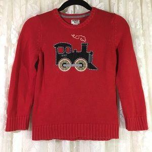 OshKosh B'Gosh Boys Red Train Sweater